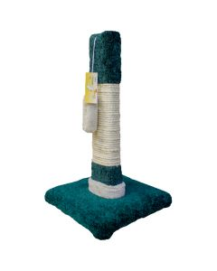"""TomCat 2x4 Scratching Post with Sisal [22""""] (Assorted Colours) TCS55"""